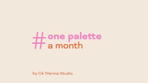 #onepaletteamonth: July 2020
