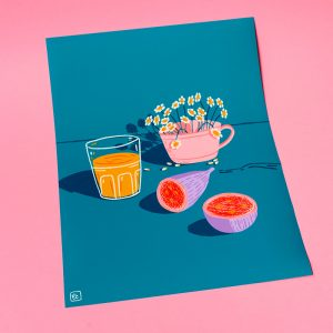 Illustration Poster Shop Cé-Marina